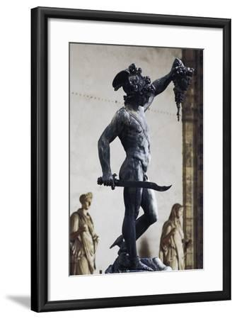 Perseus with the Head of Medusa--Framed Photographic Print