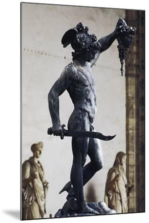 Perseus with the Head of Medusa--Mounted Photographic Print