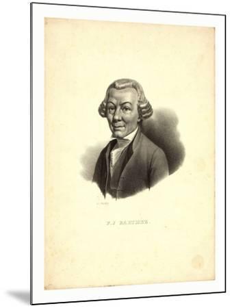 P.J. Barthez / Pigueron.--Mounted Giclee Print