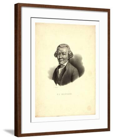 P.J. Barthez / Pigueron.--Framed Giclee Print