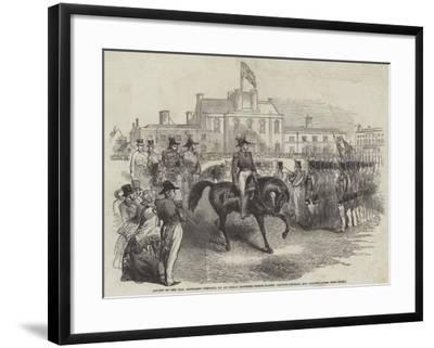 Review of the Honourable Artillery Company--Framed Giclee Print