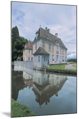 Reflection of a Castle in Water--Mounted Photographic Print
