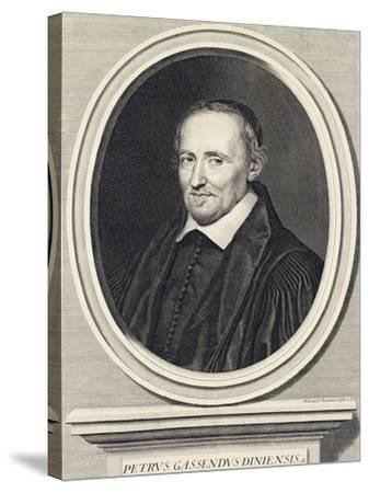 Portrait of Pierre Gassend Called Gassendi (Champtercier--Stretched Canvas Print
