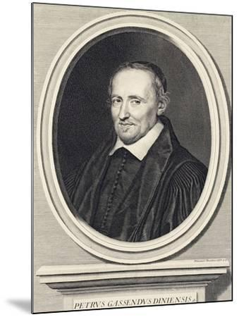 Portrait of Pierre Gassend Called Gassendi (Champtercier--Mounted Giclee Print