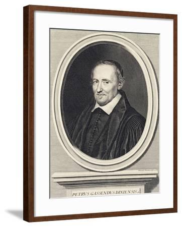 Portrait of Pierre Gassend Called Gassendi (Champtercier--Framed Giclee Print