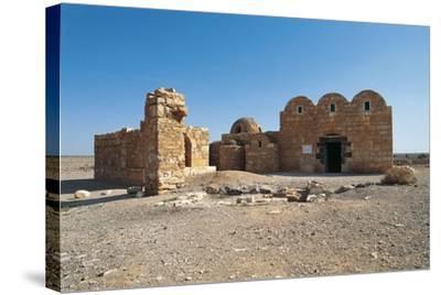 Qasr Amra or Qusayr Amra Desert Castle (Unesco World Heritage List--Stretched Canvas Print