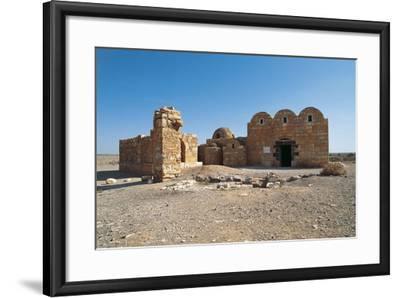 Qasr Amra or Qusayr Amra Desert Castle (Unesco World Heritage List--Framed Photographic Print