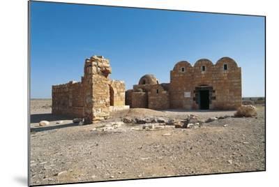 Qasr Amra or Qusayr Amra Desert Castle (Unesco World Heritage List--Mounted Photographic Print
