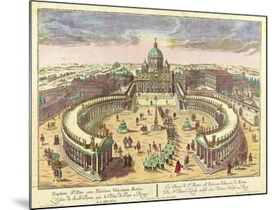 Rome--Mounted Giclee Print