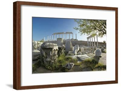 Ruins of Ancient Pergamum Acropolis--Framed Photographic Print