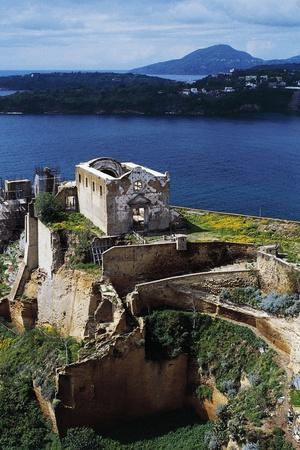 Ruins of Church of Santa Margherita Nuova before its Restoration--Framed Photographic Print