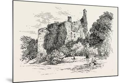 Ruins of Harewood Castle--Mounted Giclee Print