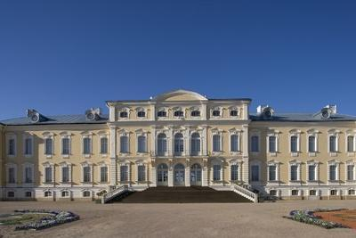 Rundale Palace (1736-1768)--Framed Photographic Print