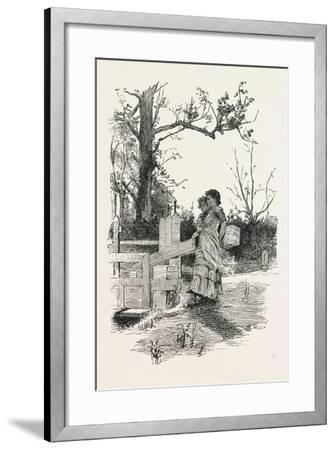 Sixth Prize Design for the Foreign Department (Messrs. Buxton and Habershon--Framed Giclee Print