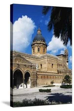 Side View of Cathedral of Assumption of Blessed Virgin Mary--Stretched Canvas Print