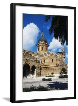 Side View of Cathedral of Assumption of Blessed Virgin Mary--Framed Photographic Print