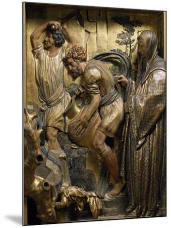 Saint Benedict Originates Water Spring in Subiaco--Mounted Giclee Print