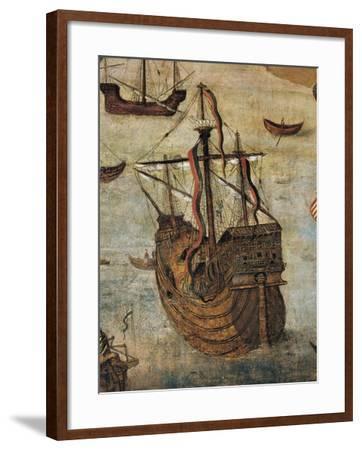 Spanish Caravel--Framed Giclee Print