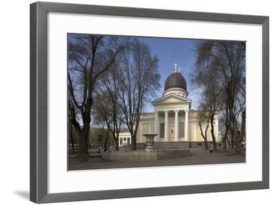 Spaso-Preobrazhensky Cathedral--Framed Photographic Print