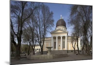 Spaso-Preobrazhensky Cathedral--Mounted Photographic Print