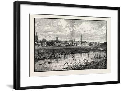 Stamford Is a Town and Civil Parish on the River Welland in the South Kesteven District of the Coun--Framed Giclee Print