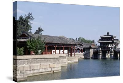 Summer Palace (Unesco World Heritage List--Stretched Canvas Print