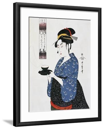 Tea Time--Framed Giclee Print