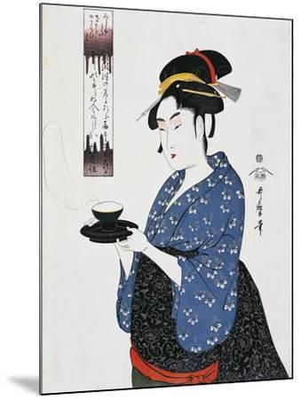 Tea Time--Mounted Giclee Print