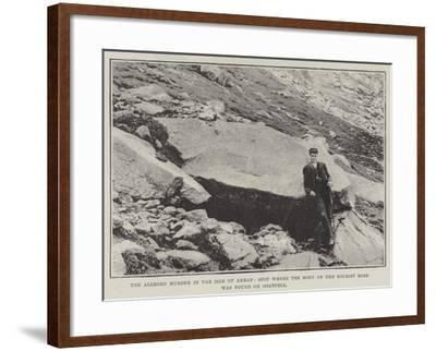 The Alleged Murder in the Isle of Arran--Framed Giclee Print