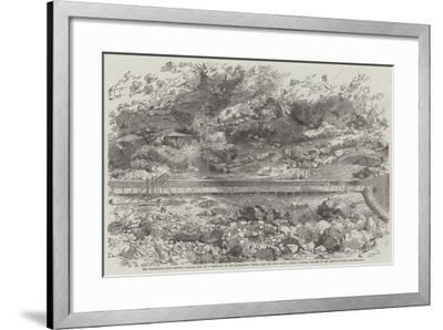 The Californian Gold District--Framed Giclee Print