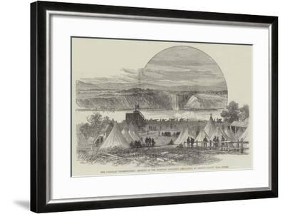 The Canadian Shoeburyness--Framed Giclee Print