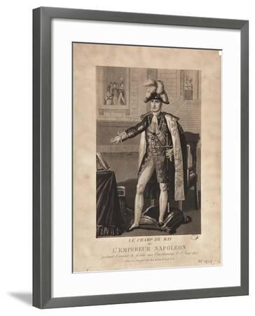 The Champ De Mai--Framed Giclee Print