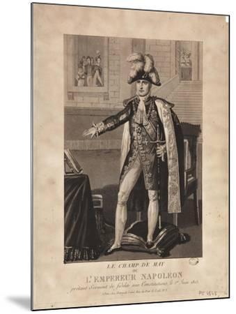 The Champ De Mai--Mounted Giclee Print