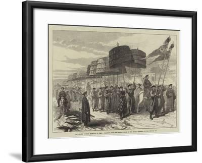 The Chinese Imperial Marriage at Pekin--Framed Giclee Print