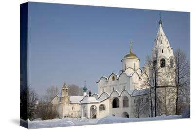 The Cathedral (1510-1518) and the Convent of the Intercession--Stretched Canvas Print