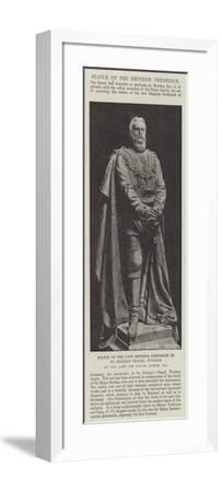 Statue of the Late Emperor Frederick in St George's Chapel--Framed Giclee Print