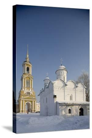The Cathedral (16th Century) and the 72 M High Bell Tower (1813-19)--Stretched Canvas Print