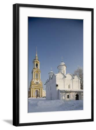 The Cathedral (16th Century) and the 72 M High Bell Tower (1813-19)--Framed Photographic Print