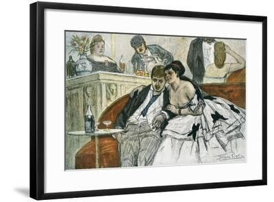 The Drunken Dandy--Framed Giclee Print