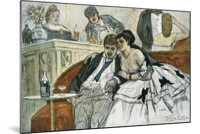 The Drunken Dandy--Mounted Giclee Print