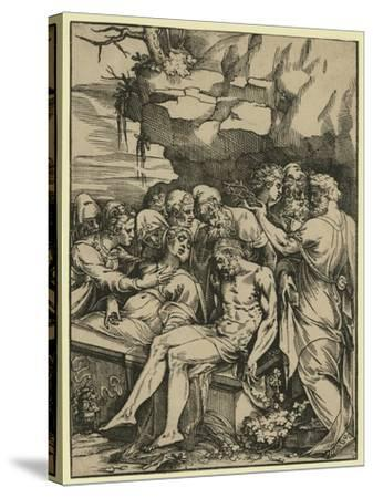 The Entombment--Stretched Canvas Print