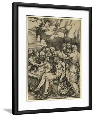 The Entombment--Framed Giclee Print