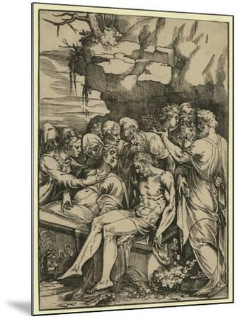 The Entombment--Mounted Giclee Print