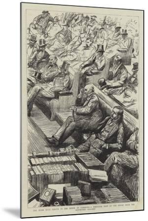 The Home Rule Debate in the House of Commons--Mounted Giclee Print