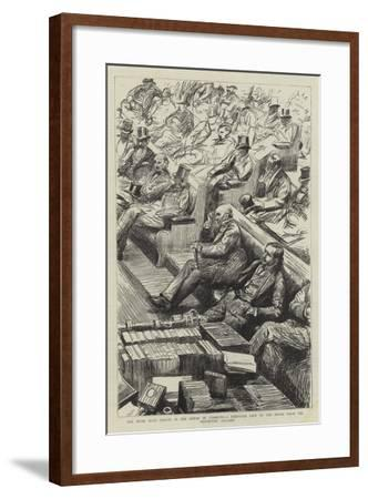 The Home Rule Debate in the House of Commons--Framed Giclee Print