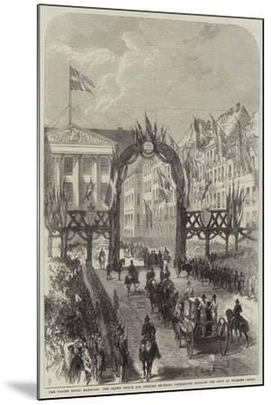 The Danish Royal Marriage--Mounted Giclee Print