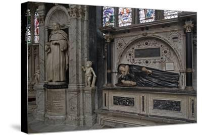 The Funerary Monument to Thomas Machly--Stretched Canvas Print