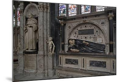 The Funerary Monument to Thomas Machly--Mounted Photographic Print