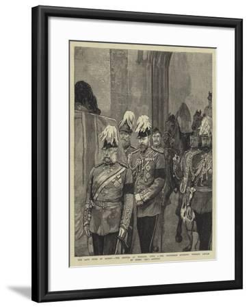 The Late Duke of Albany--Framed Giclee Print