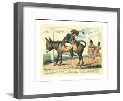 The Journey of a Modern Hero--Framed Giclee Print